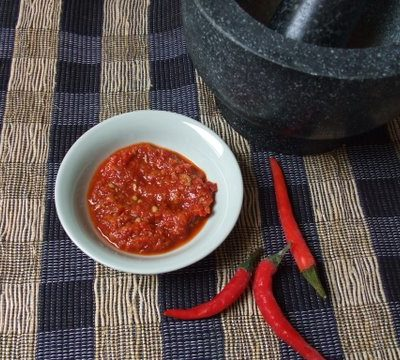 Chicken Rice Chilli Sauce
