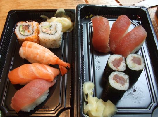 Tsuru sushi broadgate
