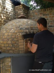 Wood fire oven