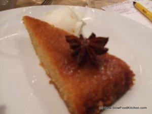 Moroccan Citrus Tart
