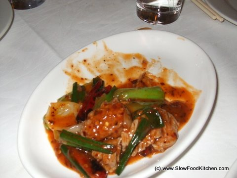Spicy chilli beef