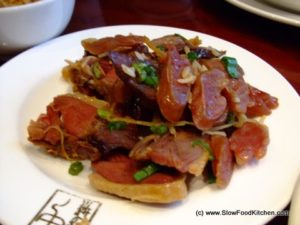 Chinese Sausages and wax meat