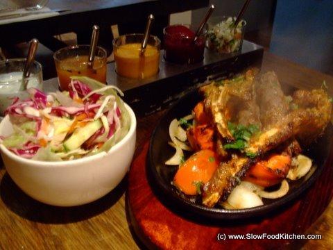 Indian Lamb Chops and Kebabs