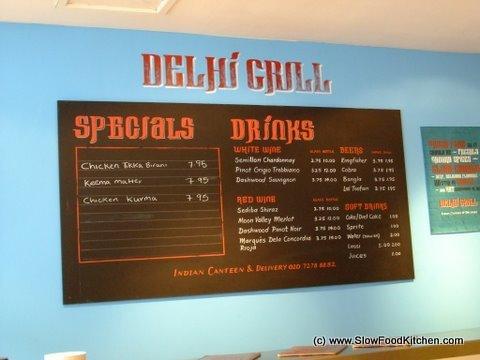 Delhi Grill Islington