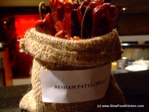 Air Flown Chillies Bombay Brasserie