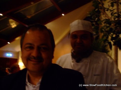Executive chef Oberoi and Head Chef Prahlad Hegde