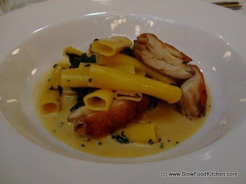 Crisp Chicken Wings Macaroni Les Deux Salon