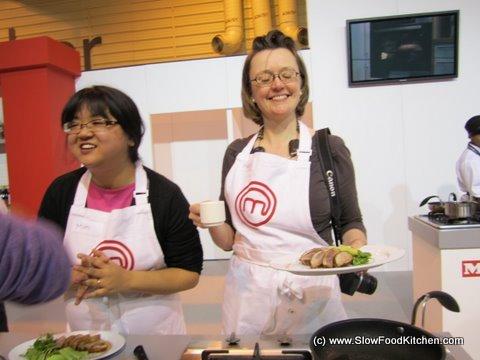 Masterchef Challenge BBC Good Food Show Alex Rushmer Dr Tim Kinnaird