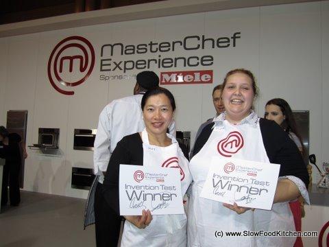 Masterchef Invention Test - The Winners