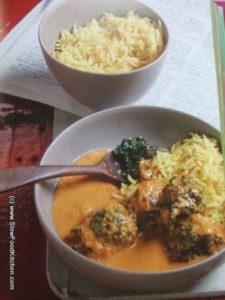 Anjum Anand I Love Curry Spinach Kofta Curry
