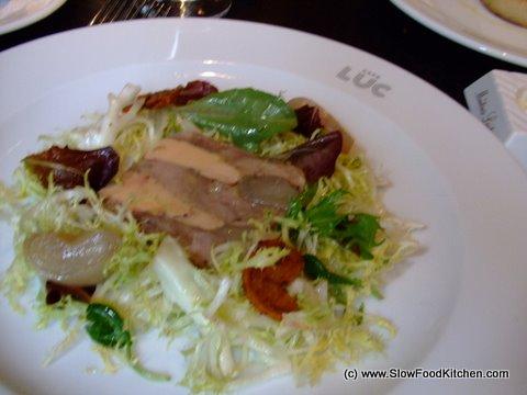 Duck Salad Cafe Luc