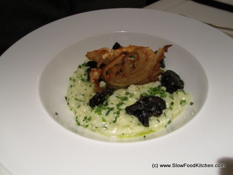 Herb Risotto with snails Pierre Koffmann Berkeley Hotel