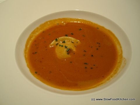 Langoustine and crab soup Pierre Koffmann