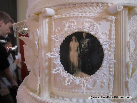 Digital Images as cake decorations Royal Wedding Cake