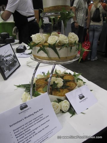 Real Food Festival Pork Pie Wedding Cake