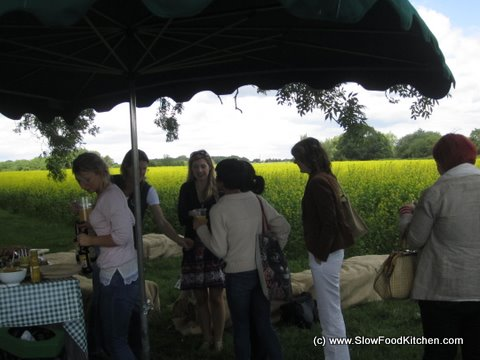 The Tracklements Mustard Farm Picnic