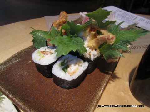 Soft Shell Crab Roll feng sushi