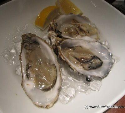 Oysters Thai Style at Patara Soho