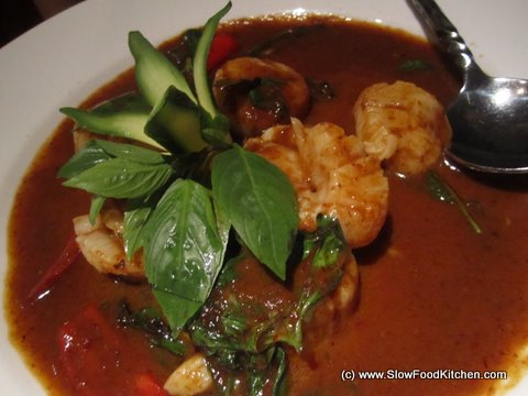 Scallops in Chilli Paste and Basil