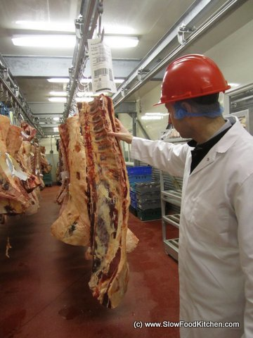 Donald Russell online butcher with Mark Farquhar Head Butcher