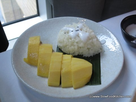 Mango Sticky Rice, Suda Thai Restaurant, Covent Garden