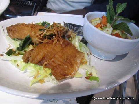 Crispy Sea Bass Suda Thai