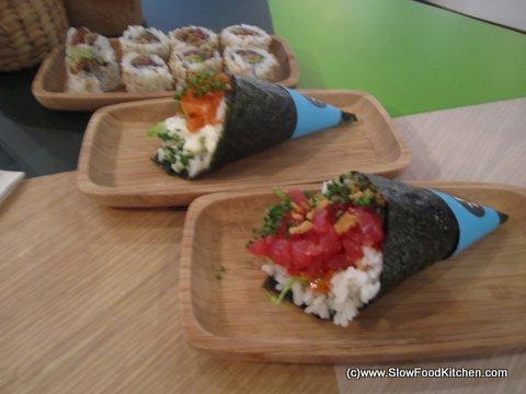 Yoobi Temakeria Soho Spicy Tuna Rolls
