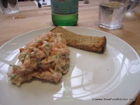 Fresh and Smoked Salmon Rillette