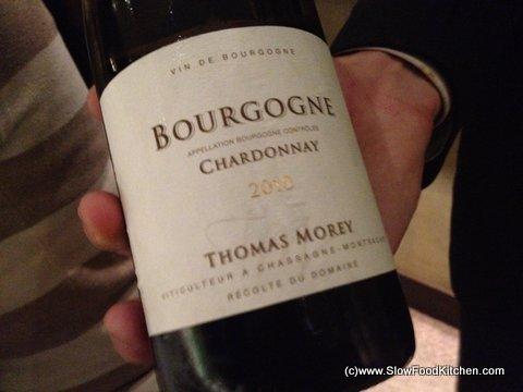 The Square Phil Howard Bourgogne Chardonnay 2010 Thomas Morey Burgundy