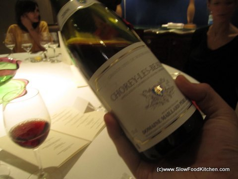 The Square Phil Howard Chorey-Les-Beaune 2008 Domaine Mailard, Burgundy
