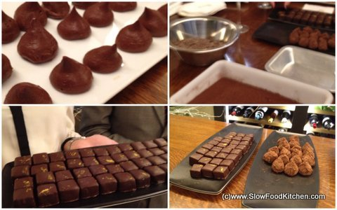 Making Chocolate Truffles with William Curley