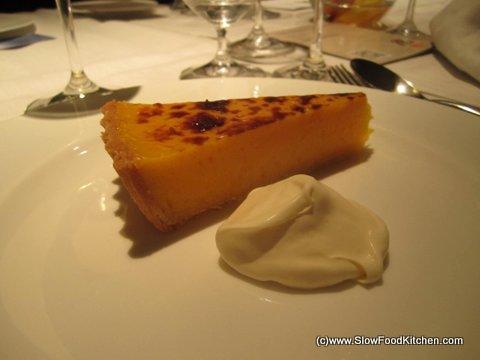 Theo Randall Masterclass with Parmigiano Reggiano Amalfi Lemon Tart