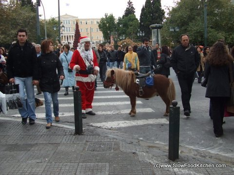 Christmas Greek Style on Syntagma Square