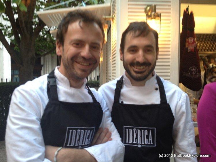 iberica-la-terraza Chef Nacho Manzano and Cesar Garcia
