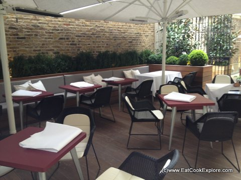 Sunday Lunch New St Grill Dining Al Fresco