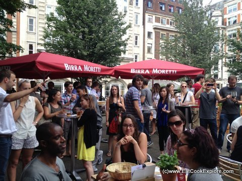 Italy Live Moretti Beer