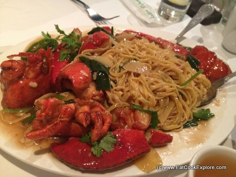 Mandarin Kitchen for Lobster Noodles in
