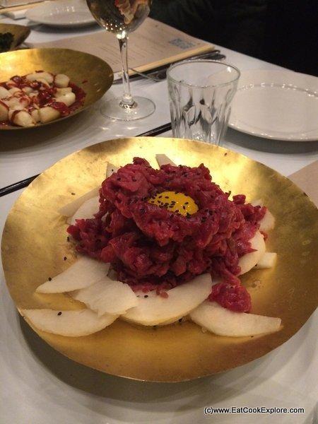 Stevie Parle's Korean Feast at Dock Kitchen