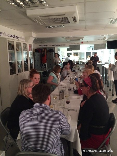 The Cookery School Oxford Circus London