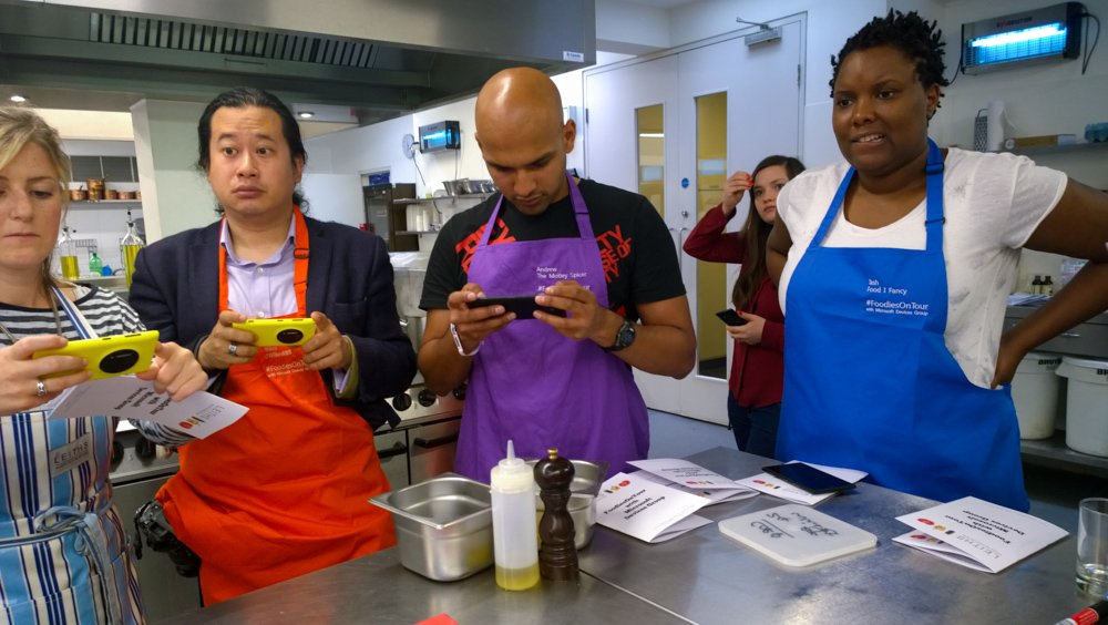 Nokia Lumia Food Styling Class
