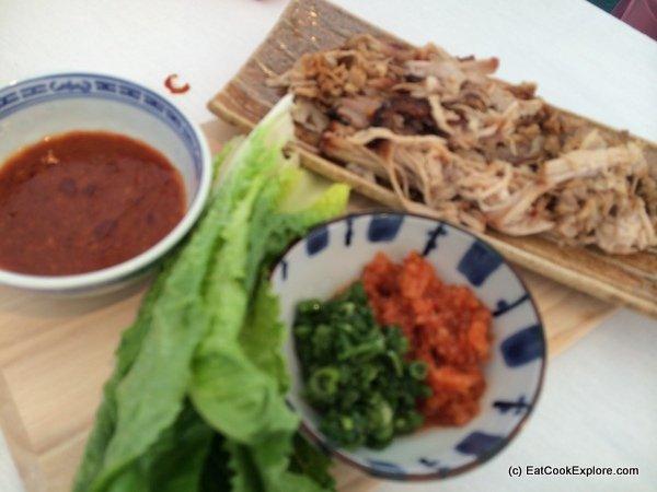 Bossam (Korean Pork Wraps)