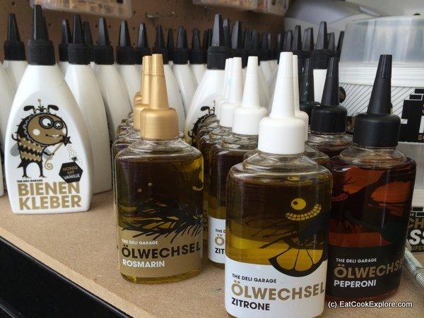 German Flavoured oils