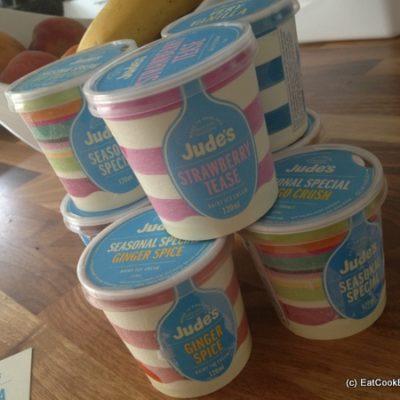 Indulging in Jude's Ice Cream