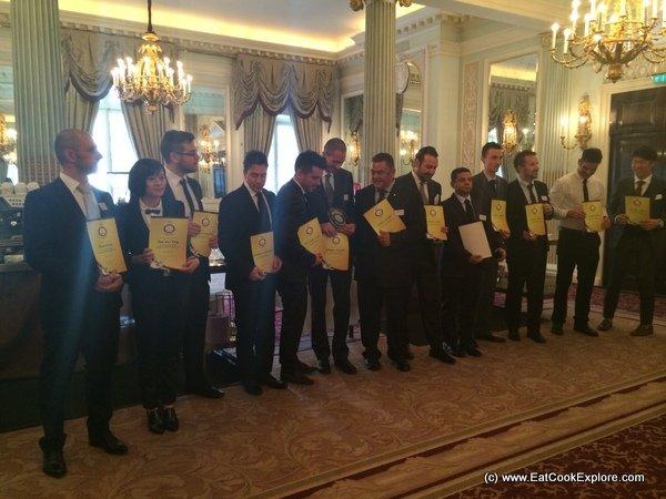 15 Baristas at the Espresso Italiano Championship 2014