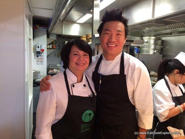 Florita Alves and Andrew Wong at A Wong
