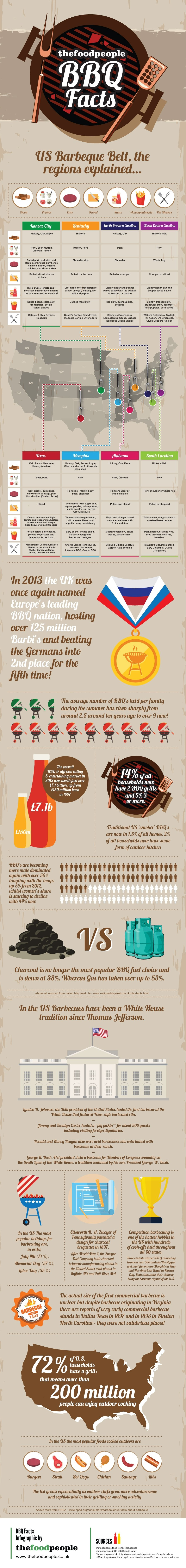 Southern BBQ Infographic