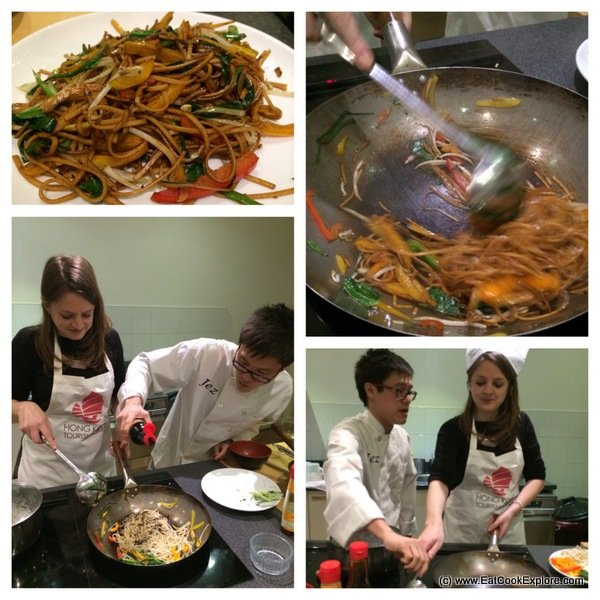 Hong Kong cooking School of Wok