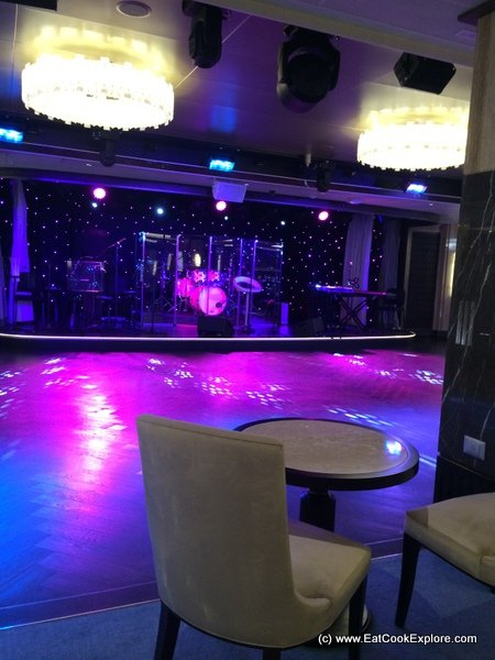 Britannia Cruise Ship Crystal Room night club