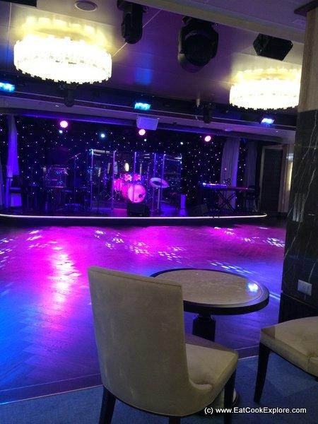 Britannia Cruise Ship Crystal Room night club