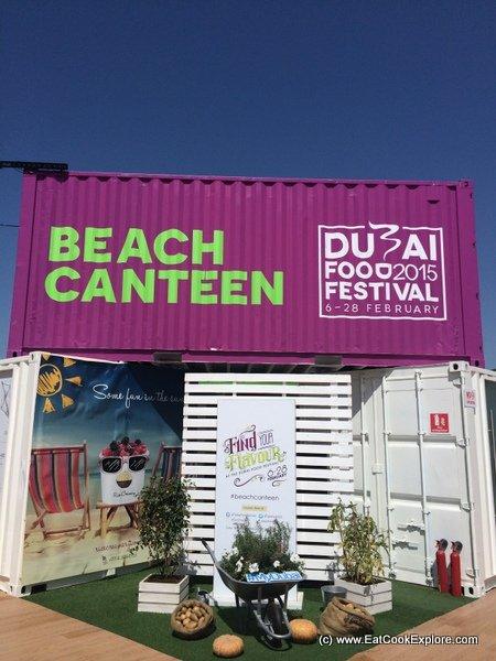 Beach Canteen Dubai Food Festival